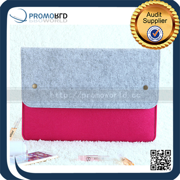 Wholesale Popular Portable Unique Felt Laptop Bag