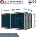 Color steel sheet folding container house for storage