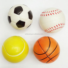 2017 balls high quality and cheaper antitress ball/PU foam antistress stressball