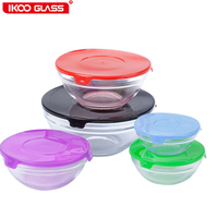 Housewares family using tableware freezer works glass pet food container