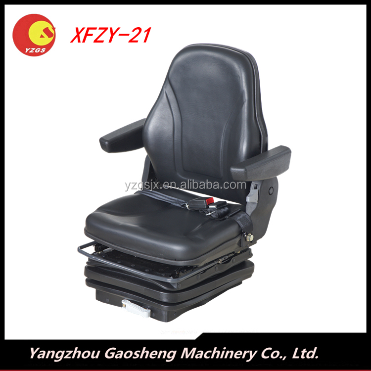 New design forklift seat with air suspension system/XFZY-21A/Grammer pneumatic suspension material handling seat