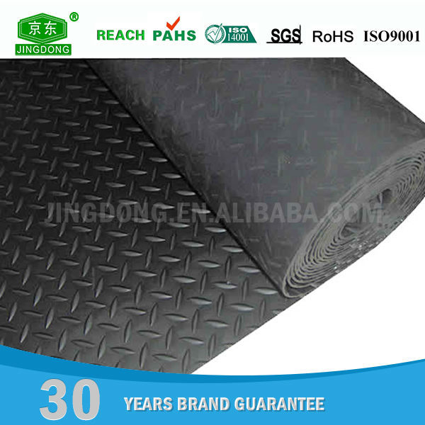 Eco-friendly Reclaimed Material rubber sheet floor mat