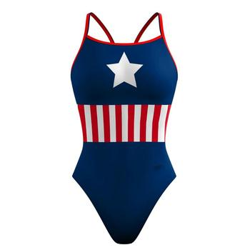 Custom Made Hot Sale One Piece Chlorine Resistant Women's Swimwear