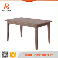 Elegant dining table and chair dinning table solid wood tree table