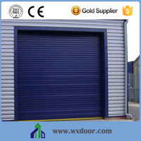 Vertical Opening Pattern and Aluminum Alloy Material Rolling Up Door