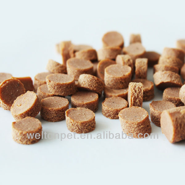 Round slice cookies super premium dog food