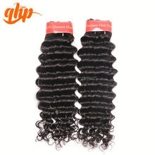 QHP HAIR Guangzhou Ali Queen Hair Unprocessed Wholesale Remy Virgin Peruvian Hair Deep Wave