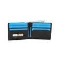 RFID Mens Leather Wallet Slim Front Pocket Wallet Billfold RFID Blocking