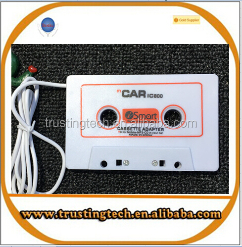 portable cassette adapter mp3 player for cars car audio cassette adapter for MP3 CD MD DVD for clear sound music