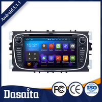 Cheap 7 inch AM 1620KHz Android 5.1.1 car audio dvd player gps navigation system for Ford S Max
