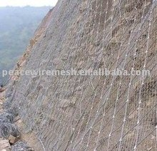 SNS netting for control the rockfall