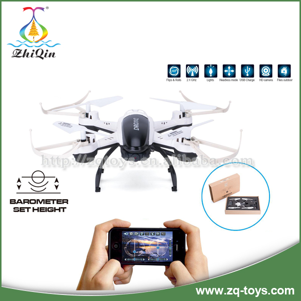 2.4G phone control remote control outdoor spy drone helicopter 4axis rc toys