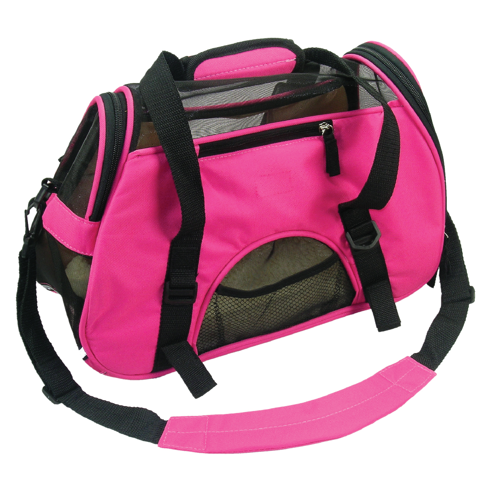 BSCI Oxford Cloth Elegant Shaped Breathable Flight Dog Carrier