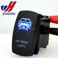 Rocker Switch Jeep Wrangler JK Off-Road Lights Symbol