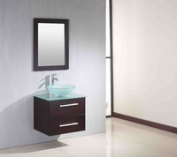 waterproof bathroom wash basin wood cabinet