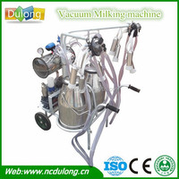 16-20 cows/h high efficiency hand operated milking machine with price
