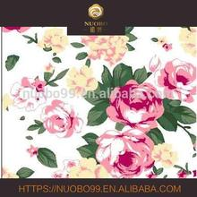 100% silk crepe de chine woven beautiful digital printing fabric