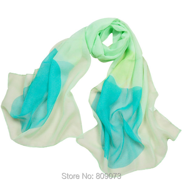 Mix Wholesale!High Quality  2015 New Arrival Fashion Summer Spring Print Chiffon Silk Scarves Lady Long Wrap Scarf Female