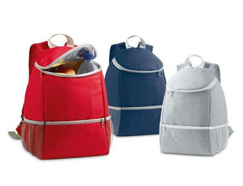 promotional waterproof backpack with cooler compartment