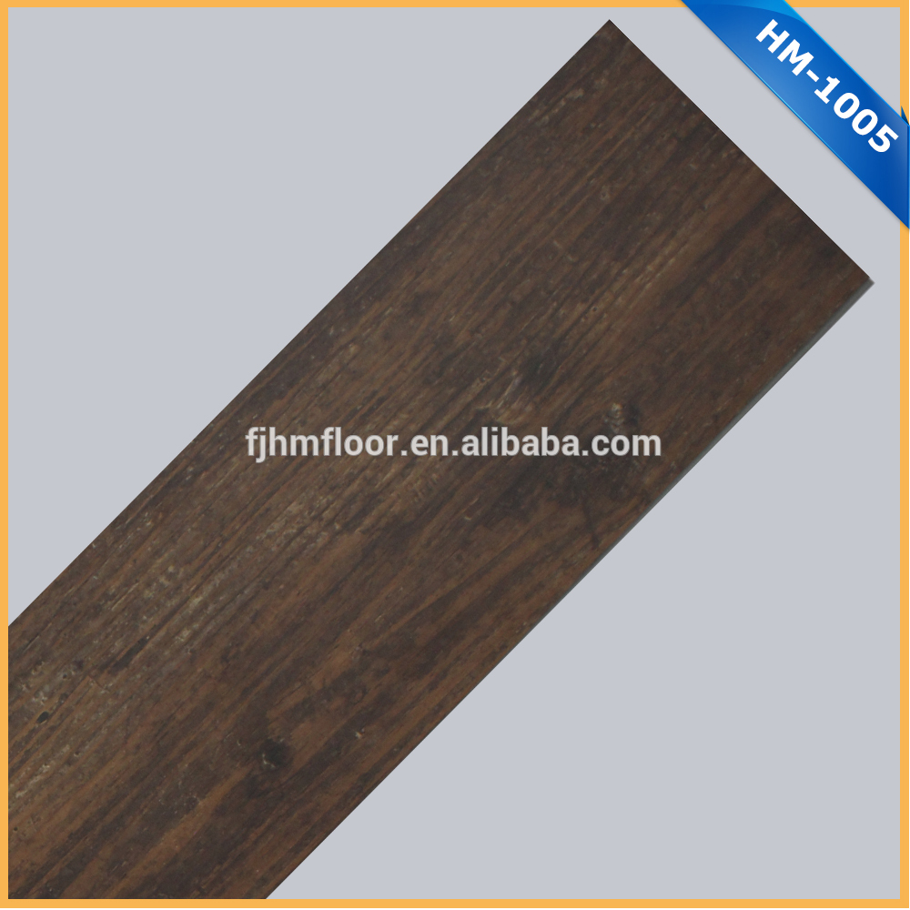 HM-1005 Multi-Purpose wood texture <strong>pvc</strong> flooring for indoor usage