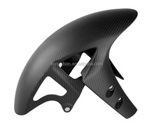 Carbon Fiber Motorcycle Parts Front Fender Mudguard For Yamaha R1 R6 FZ1 Twill Weave Matte