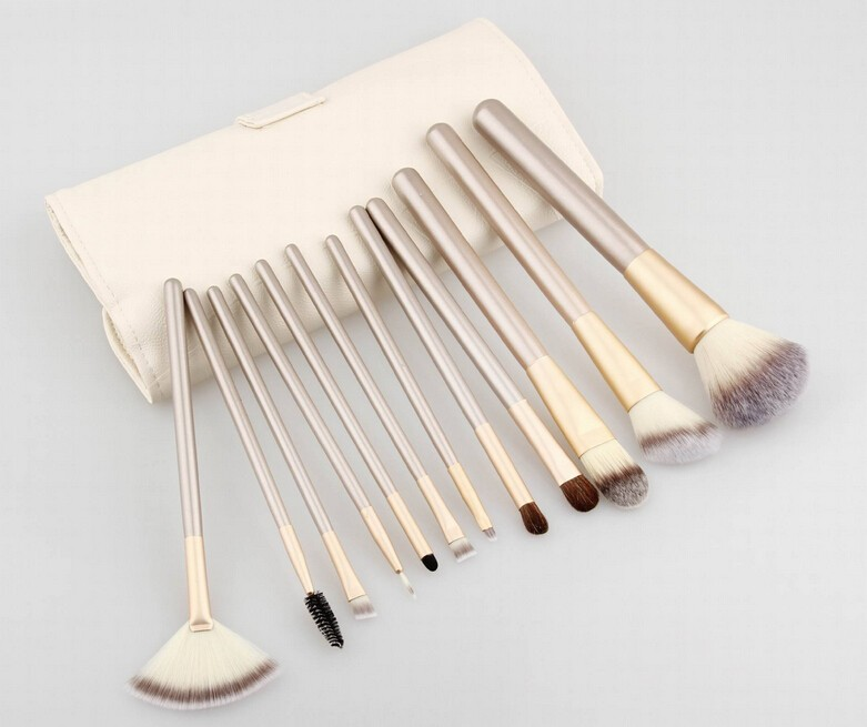 Hottest 12pc Cosmetic Tool Make up Brush