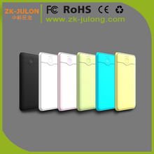 Easy carry ultra slim power bank 4000mah External Battery polymer Power Bank 4000mah for iPhone
