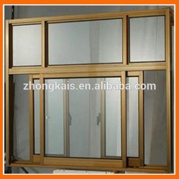 Energy Conservation T5 aluminum frame glass door parts