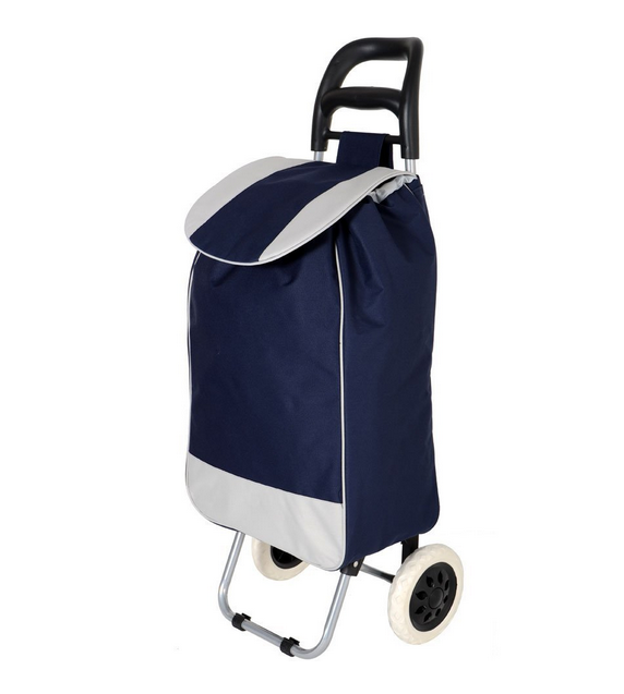 Wheeled Vegetable Grocery Foldable Shopping Trolley Bag - Buy ...