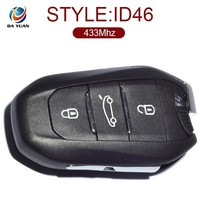 lock key for Peugeot 2008 308 508 3 Button 433MHz chip ID46 chip FSK AK009029