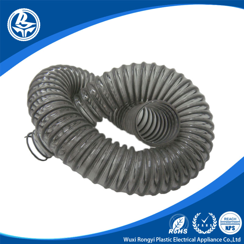 vacuum Steel Wire Reinforced Fexible PVC HOSE