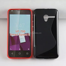 S Line Soft TPU Back Cover Case for Vodafone Smart Speed 6 VF-795