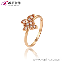 13212- xuping popular infinity king and queen engagement wedding ring