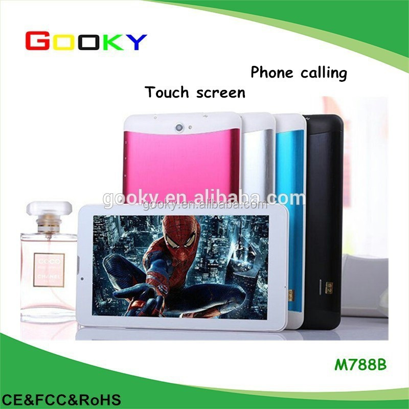 Two cameras with flash light android 4.2 os dual core 7-inch tablet built-in 3g