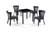 outdoor furniture rattan dinning sets garden chairs and table