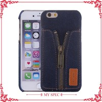 design cowboy pc mobile case cloth style cover case for iphone 6