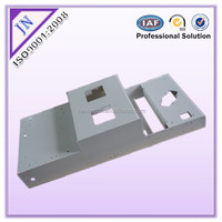 Metal case for equipment fabrication