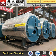 gas diesel fired induction steam boiler for industrial production