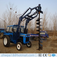 Easy to operate Auger Drilling Machine Tractor DIRT DRILLS
