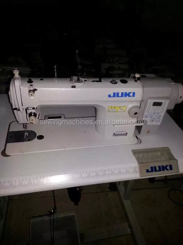 used J-DDL-8700-7 COMPUTER lockstitch industrial sewing machine