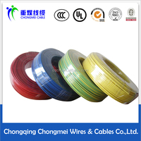 Polyvinyl chloride insulated nylon jacketed wires and cables