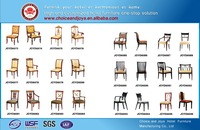 golden quality hotel furniture wood chairs for restaurant modern wooden restaurant chairs JOYD6073#