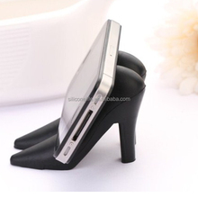 2015 New Arrival Ladies High-Heel Shoe Silicone Mobile Phone Holder