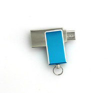 2 In 1 Swivel Otg Usb Flash Drive Wholesale All over the world 256gb Usb 3.0 Flash Drive