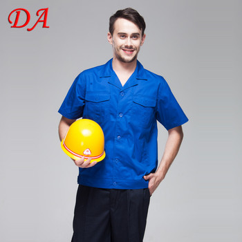 Wholesale Blue Mechanic Work T Shirts