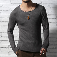2017 Men casual knitted pullover sweater men long sleeve knitwear men high quality brand design pullover sweater