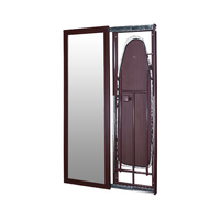 antiquel mirror door stand folding ironing board cabinet for sale of SRI-07