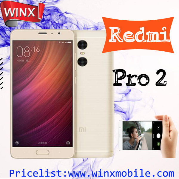 2017 Xiaomi Redmi pro2 pro 2 Original RAM 4GB 6GB ROM 128GB brand factory online shopping 4500mAh 12MP camera mi mobile phone