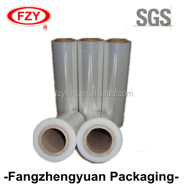 pe shrink plastic roll stretch film for plastic pallets