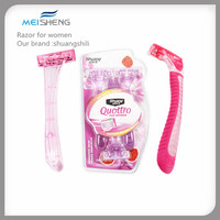 Disposable Shaving Razor For Women Or